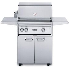 """27"""" Gas Grill on Cart with ProSear Burner and Rotisserie"""