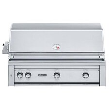 """42"""" Built-In Gas Grill with ProSear2 -Rotisserie Burner"""
