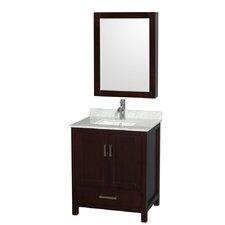 "Sheffield 30"" Single Bathroom Vanity with Medicine Cabinet"