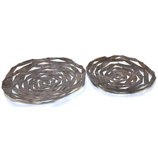 2 Piece Spiral Tray