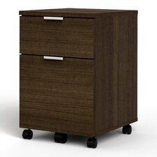 Contempo 2-Drawer Mobile Pedestal