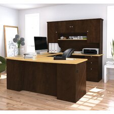 Manhattan Executive Desk with Hutch