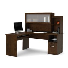 Dayton Credenza Desk with File