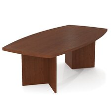 Prevue 8' Boat Shaped Conference Table