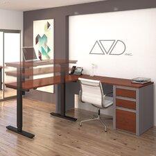 Connexion L-Shape Desk Office Suite