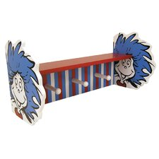 Dr. Seuss™ Thing 1 and Thing 2 Shelf with Peg