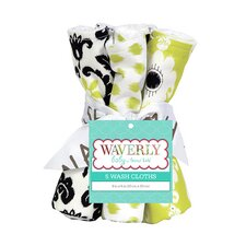 Waverly Rise and Shine Bouquet Wash Cloth (Set of 5)