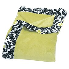 Waverly Rise and Shine Ruffle Trimmed Receiving Blanket