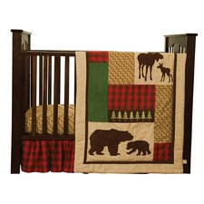 Northwood's 3 Piece Crib Bedding Set