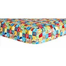 Dr. Seuss™ Alphabet Seuss Squares Crib Sheet