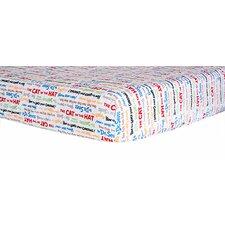 Dr. Seuss™ Alphabet Seuss Titles Crib Sheet