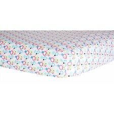 Cupcake Dot Crib Sheet
