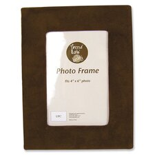 Fabric Covered Ultrasuede Picture Frame