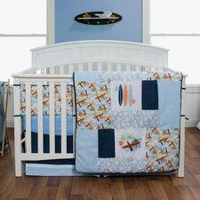 Surf's Up 3 Piece Crib Bedding Set