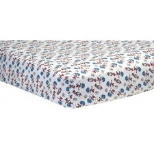 Dr. Seuss Cat and Things Crib Sheet
