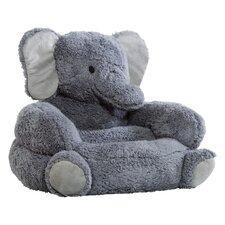 Elephant Kids Plush Character Chair