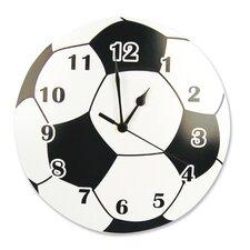 "11"" Soccer Ball Wall Clock"