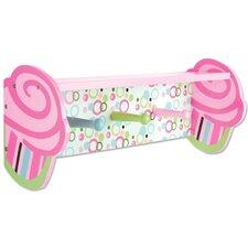 Cupcake Shelf with Pegs