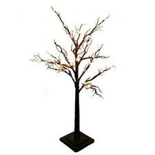 24 Light Tree Light with Bark Effect