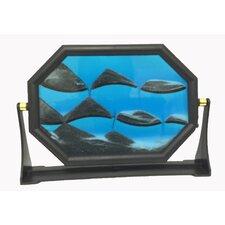 Decorative Hexagon Sand Art