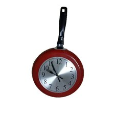 Frying Pan Wall Clock