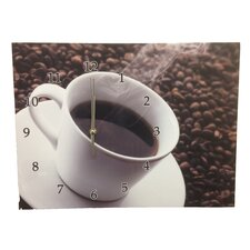 Coffee Cup Frame Wall Clock