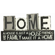 Home Sign Wall Decor