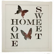 Home Sweet Home Battery Operated Lighted Sign Wall Decor