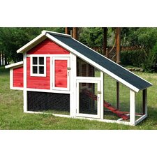 Pet Proposal Habitat Chicken Coop with Nesting Box