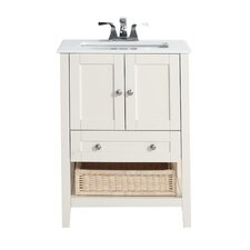 "Cape Cod 25"" Single Bathroom Vanity Set"