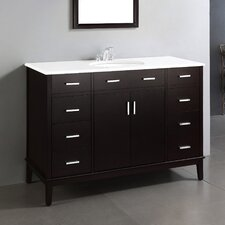 "Urban Loft 48"" Single Bathroom Vanity Set"
