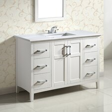 "Winston 48"" Single Bathroom Vanity Set"