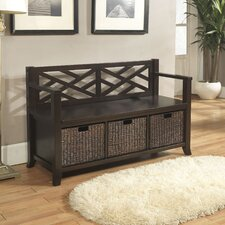 Adrien Entryway Storage Bench
