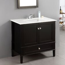 "Chelsea 36"" Bathroom Vanity Chest & Sink Set"