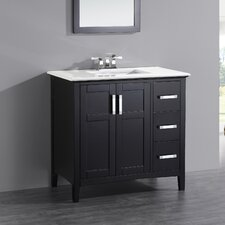 "Winston 37"" Single Bathroom Vanity Set"