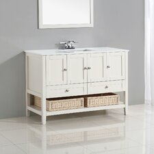 "Cape Cod 49"" Single Bathroom Vanity Set"