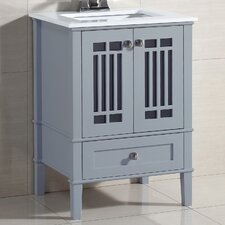 "Redford 25"" Single Bathroom Vanity Set"