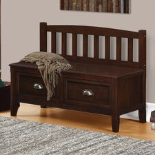 Burlington Wood Storage Entryway Storage Bench