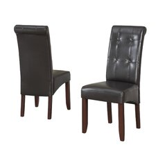 Cosmopolitan Parson Chair (Set of 2)