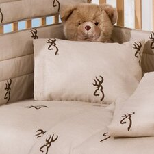 Buckmark 2 Piece Crib Bedding Set