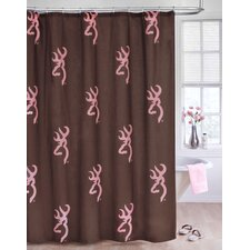 Buckmark Shower Curtain