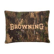 Camo Deer Cotton Lumbar Pillow