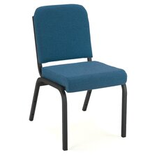 Armless Front Roll Seat Stacking Chair