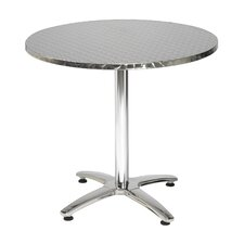 """28"""" Round Pedestal Table with X Base"""