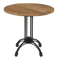 "28"" Round Pedestal Table with Cast Aluminium Base"