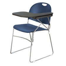 """18"""" Plastic Tablet Arm Chair ( Set of 2 ) (Set of 2)"""