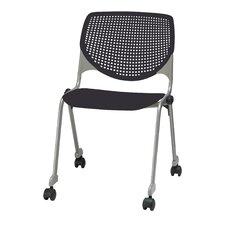Kool Series Armless Stacking Chair