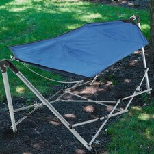 Equipped Outdoors Foldable and Portable Hammock