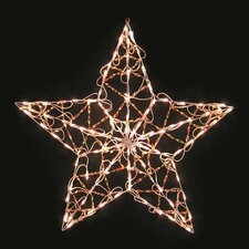 Iridescent Star Christmas Decoration