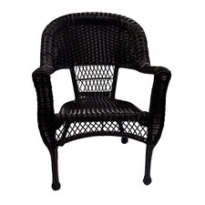 Resin Wicker Patio Dining Arm Chairs